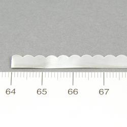 Finsilversarg med vågig kant 4,6 mm 0,35 mm