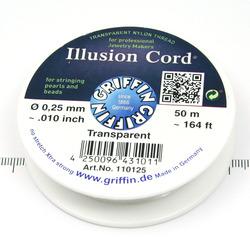 Illusion Cord nylonlina 0,25 mm - Utgående vara