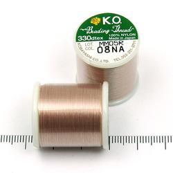 K.O. tråd för pärlsömnad beige