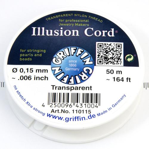 Illusion Cord nylonlina 0,15 mm - Utgående vara