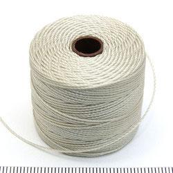 S-lon bead cord light grey (grå)