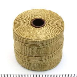 S-lon bead cord bronze (gulbrun)