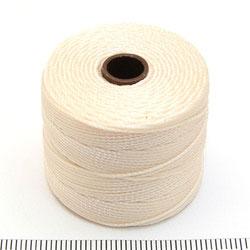 S-lon bead cord vanilla (gulvit)