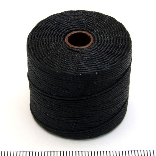 S-lon bead cord svart