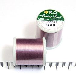 K.O. tråd för pärlsömnad syrenlila - Utgående vara