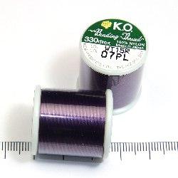 K.O. tråd för pärlsömnad mörklila