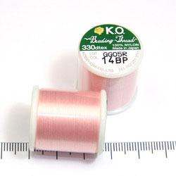 K.O. tråd för pärlsömnad ljusrosa