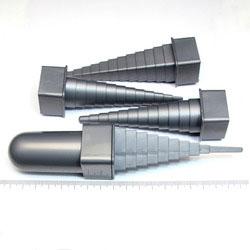 Dorn (mandreller) för att forma metalltråd, set om 4 st