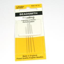 Beadsmith pärlnålar mix storlek 10, 12, 13