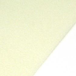 Pärlmatta 35 x 28 cm ljusgul