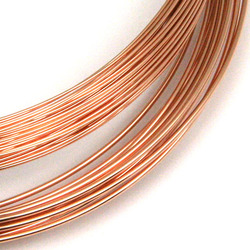 Metalltråd 0,64 mm rose gold filled