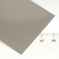 0,65 mm silverplåt 5 x 15 cm - Utgående vara