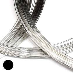 Provbitar av alla medel/normalhårda silvertrådar 0,4-1,5 mm sterling silver