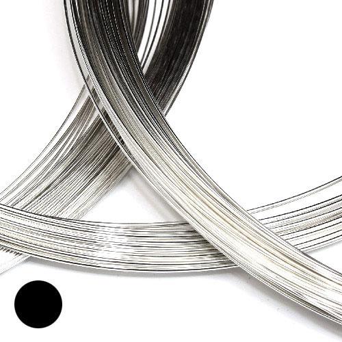 Silvertråd 0,81 mm medelhård sterling silver
