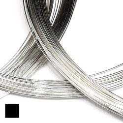 Fyrkantig silvertråd 0,5 mm sterling silver