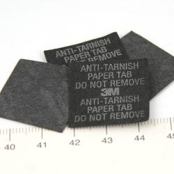 Anti tarnish-lapp för förvaring av silver