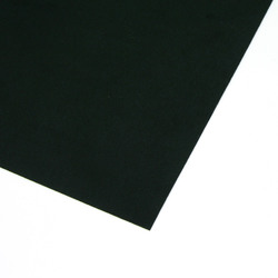 Ultra Suede svart 21,5 x 21,5 cm - Utgående vara