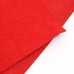 Ultra Suede röd (scounderel red) 10,7 x 21,5 cm